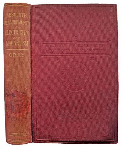 London:: Macmillan, 1889., 1889. Sm. 8vo. xix, , 384, 12, 88 pp. 66 figs., index. Original burgundy ...