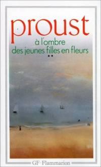 image of A l'Ombre DES Jeunes Filles En Fleurs 2 (Garnier-Flammarion)