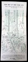 View Image 3 of 4 for Pocket Map of New York City, Compliments of Broadway Central Hotel. 1890s Inventory #26025478