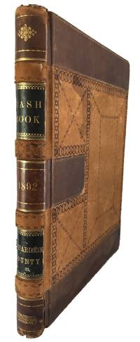 TREASURER'S ACCOUNT BOOK, RICHARDSON COUNTY, NEBRASKA