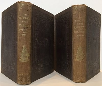 New York: Charles Scribner, 1853. First edition. 8vo. 2 volumes: 346; 328 pp. Engraved plates, one f...