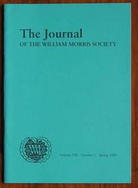 The Journal of the William Morris Society Volume VIII Number 2 Spring 1989