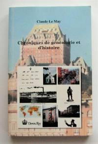 image of Chroniques de généalogie et d'histoire
