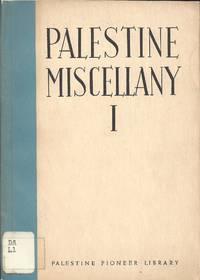 PALESTINE MISCELLANY I