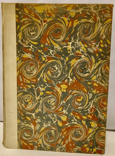 London: Nonesuch Press, 1927. First edition. Hardcover. Quarter vellum and marbled boards. Very good...
