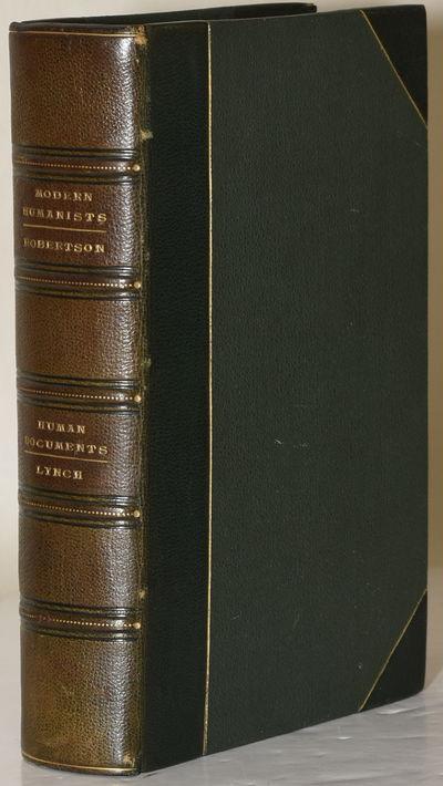 London   London: Swan Sonnenschein & Co.   Bertram Dobell, 1896. Half Leather. Very Good binding. Tw...