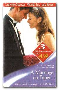 A Marriage on Paper   The Millionaire's Marriage / Marriage At Any Price /  Christos's Promise