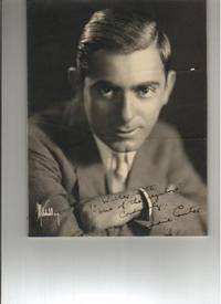 PHOTOGRAPH SIGNED BY EDDIE CANTOR