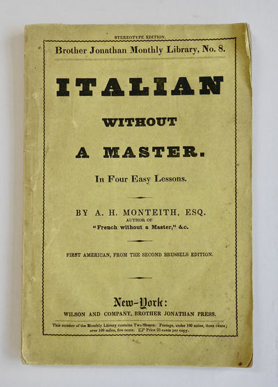 A Course of Lessons in the Italian...
