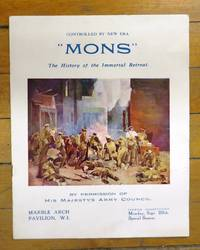 """Mons"" The History of the Immortal Retreat. Film presentation shown at Marble Arch Pavilion"