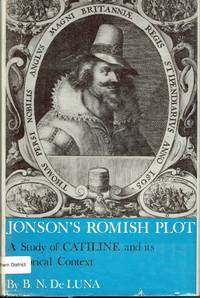 image of Jonson's Romish Plot A study of Catiline and its historical context