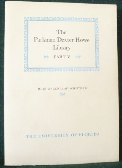 Gainesville: The University of Florida, 1983. Five volumes printed from 1983-1987. Uniformly bound. ...