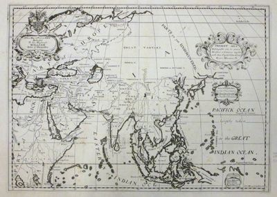 Oxford: WELLS, Edward, 1701. unbound. Michael Burghers. Map. Uncolored copper plate engraving. Image...
