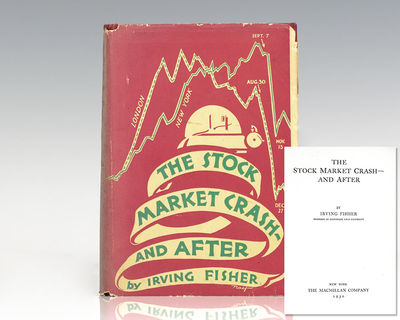 New York: The Macmillan Company, 1930. First edition of Fisher's important work tracing the causes a...