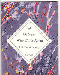 image of Eight or nine wise words about letter-writing