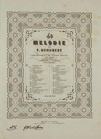 40 Melodie .. con accompto. di Piano Forte Testo Francese con Traduzione Italiana dei Sigri. V. Ottolini e P. Perego.