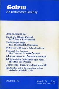 Gairm : An Raitheachan Gaidhlig : Spring 1984 - No 126