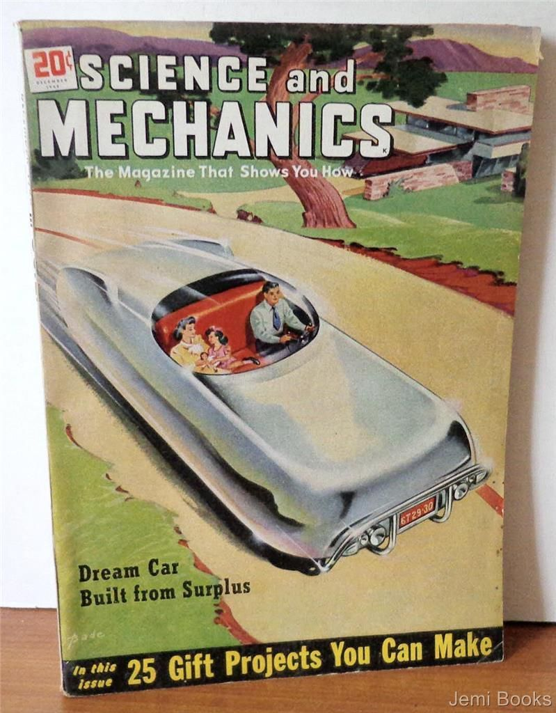 Science and mechanics magazine december 1948 dream car for Build your own net dream