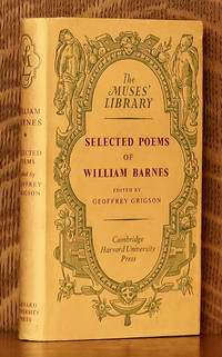 image of SELECTED POEMS OF WILLIAM BARNES