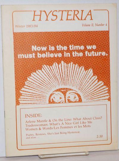 Kitchener, Ontario: Little Red Media Foundation, 1983. Magazine. 28p., stapled wraps, 8.5x10.75 inch...