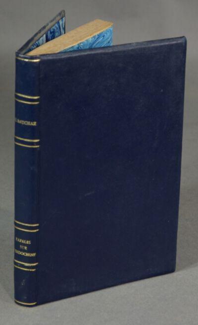 Paris: L. Fournier, 1946. First edition, 8vo, pp. -222, ; 6 folding maps; long gift inscription date...