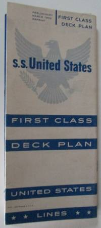 S.S. United States First Class Deck Plans