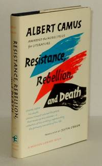 resistance rebellion and death essays by albert camus Albert camus resistance, rebellion, and death: essays publisher: vintage reissue edition (august 29, 1995)  tags: resistance rebellion and death essays pdf .