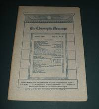 The Theosophic Messenger for January 1910