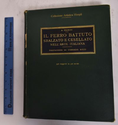 Milan, Italy: Ulrico Hoepli / E. Weyhe, 1929. Hardcover. VG. covers have edge & shelf-wear w/ scuffi...