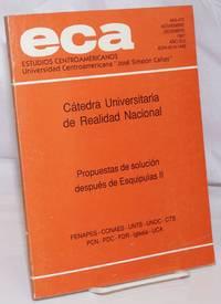 image of ECA: Estudios Centroamericanos; No. 469-470, Noviembre-Diciembre 1987, Año XLII
