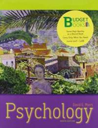image of Psychology (loose leaf) and Worth Online Video Tool Kit for Introductory Psychology (Budget Books)