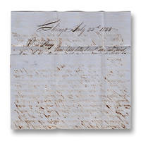 Autograph letter, signed John, to Wm. H. Pierce of Springwater, Livingston, New York.