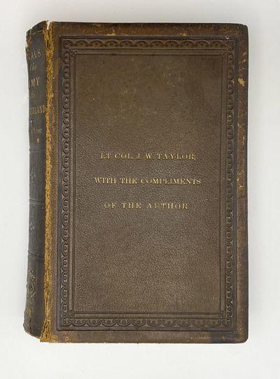 Philadelphia: J. B. Lippincott, 1863. Text block broken, chip at head of spine, frontispiece and tit...
