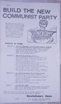 image of Build the new Communist Party [handbill]