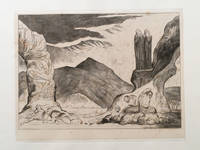 "Blake's Illustrations of Dante. Plate 6: ""Circle of the Falsifiers, Dante and Virgil covering their noses by Dante. William Blake - 1892 - from Archives Fine Books  (SKU: 449)"
