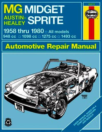 austin healey 3000 repair manual