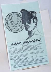 image of Vikings M. C., Inc. presents Leif Erikson [handbill] Sept. 3-6, 1982; for men only