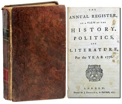 London: Printed for J. Dodsley, 1777. First Edition. Full calf. Fair. Octavo. , iv, 192 pages, pages...