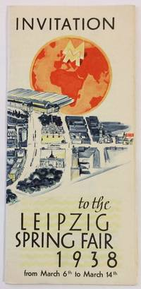 Invitation to the Leipzig Spring Fair 1938