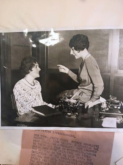 New York: Edna Nelson , 1928. Hardcover. Very good. Ring bound hardcover scrapbook of Edna Nelson, s...