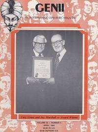 image of Genii: The International Conjurors Magazine: April 1982