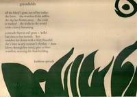 Greenfields (Poem on Broadside)