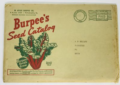 Philadelphia: W. Atlee Burpee Co., 1942. Paperback. Color illustrated wraps. Near fine, in very good...