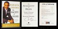 image of The Audacity of Hope (Signed & PSA-Certified 1st Ed)