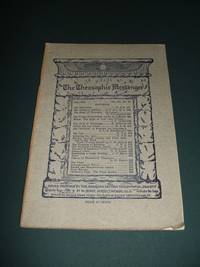 The Theosophic Messenger for July 1911