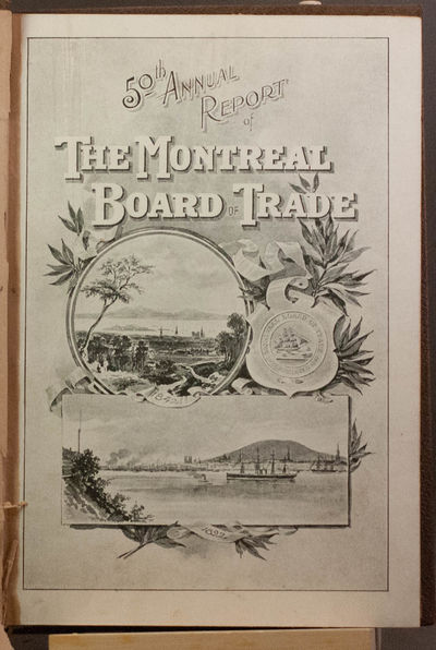 Montreal: The Gazette Printing Company, 1893. First edition . Very Good/Valuable reference for the d...
