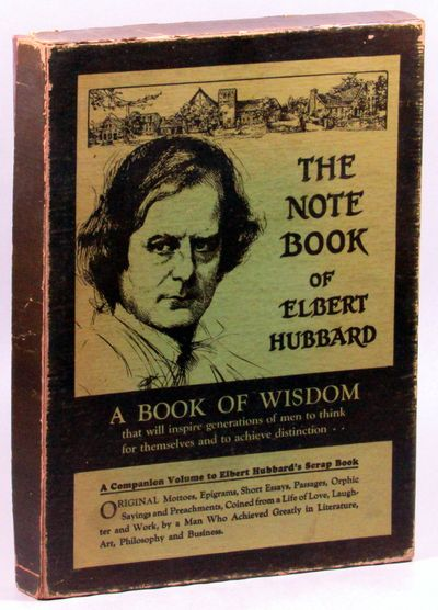 NY: William Wise, 1927. Hardcover. Very Good. Brown limp suede in publisher's brown and green box. B...