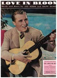 image of BING CROSBY: LOVE IN BLOOM, IN THE COOL, COOL, COOL OF THE EVENING, JUST AN ECHO IN THE VALLEY