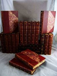 SECRET COURT MEMOIRS (EDITION DE GRAND LUXE)  St Petersburg; Henry IV;  Louis XIV; Louis XV-XVI; Empress Josephine; Cardinal De Retz; Madame De  Montespan; St. Cloud; Berlin; Marie Antoinette; Sweden & Denmark;  Marguerite of Valois (Complete 20 Volume Set) (Leather Bound) by VARIOUS, - 1900