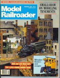 Model Railroader, February 1989